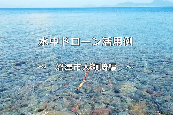 水中ドローン大瀬崎